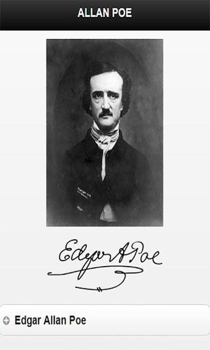 Edgar Allan Poe cuentos poesía screenshot 2