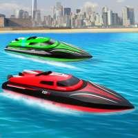 أقصى قارب سباق 2019: سرعة مزلجة مائية حيلة ألعاب on APKTom
