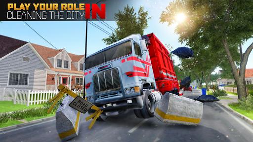 Garbage Truck Driving Simulator - Truck Games 2020 screenshot 4