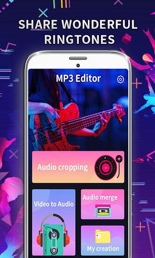 MP3 Editor: Cut Music, Video To Audio screenshot 1