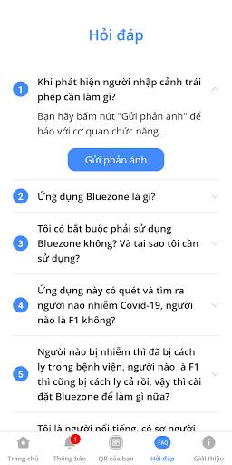 Bluezone - Phát hiện tiếp xúc screenshot 4