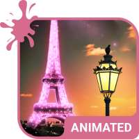 Paris Animated Custom Keyboard + Live Wallpaper on 9Apps