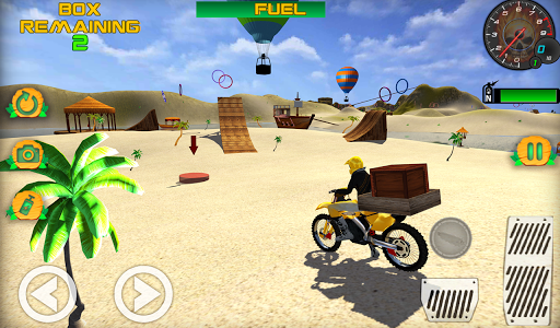 Motocross Beach Game: Bike Stunt Racing screenshot 1
