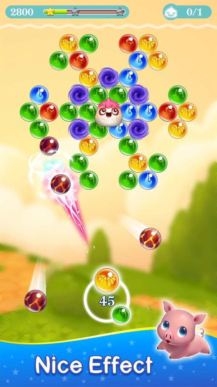 Monster Pet Pop Bubble Shooter 6 تصوير الشاشة