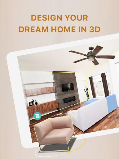 Homestyler - Interior Design & Decorating Ideas 7 تصوير الشاشة