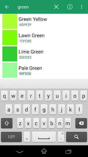 Colour Viewer screenshot 2