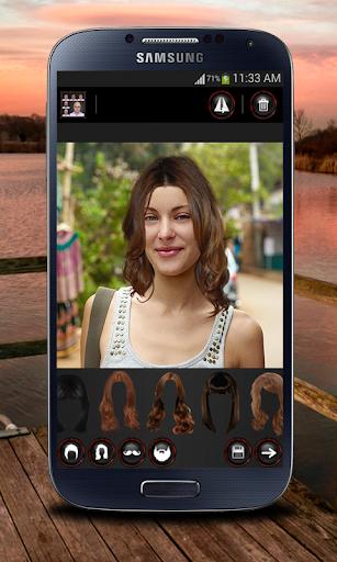 Face Hair Changer Men-Women screenshot 4