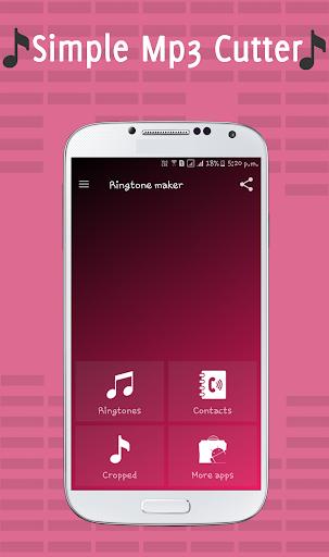 Ringtone Maker & Mp3 Cutter 1 تصوير الشاشة