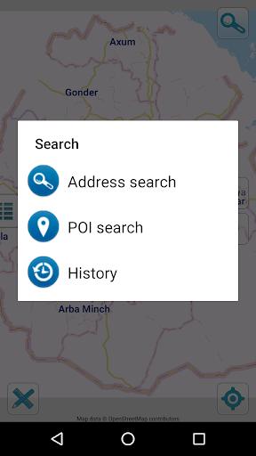 Map of Ethiopia offline screenshot 2