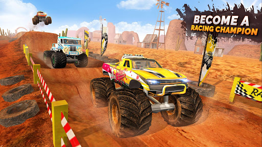 Monster Truck Ramp Stunts OffRoad Car Racing Game screenshot 2