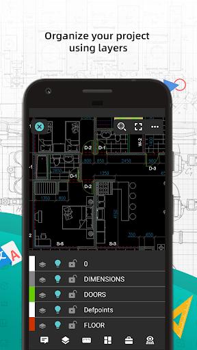 DWG FastView-CAD Viewer & Editor 5 تصوير الشاشة