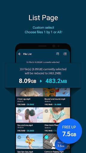 GOM Saver - Penghemat Penyimpanan Memori screenshot 2