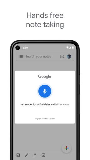 Google Keep - Notes and Lists screenshot 4