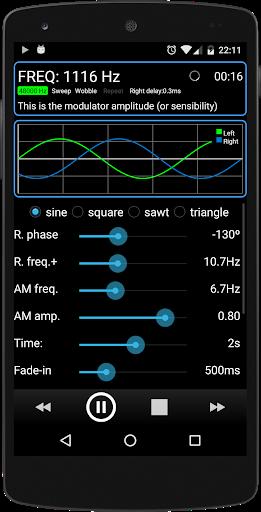 Tone Generator PRO 3 تصوير الشاشة