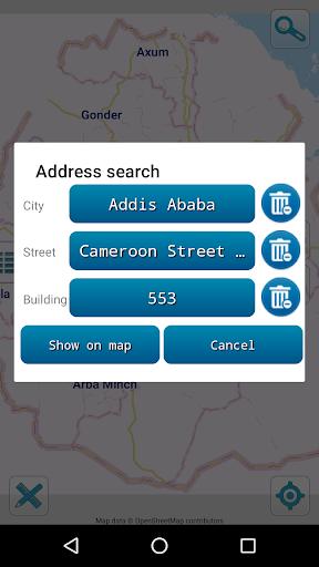 Map of Ethiopia offline screenshot 3