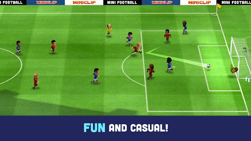 Mini Football - Mobile Soccer screenshot 1