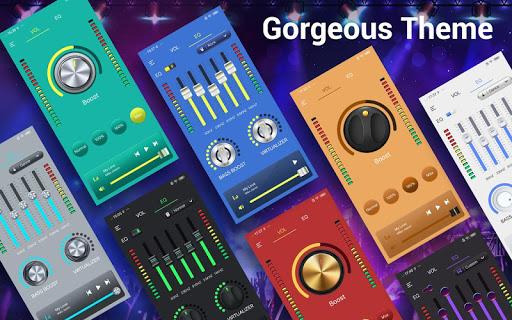 Efek musik Equalizer-Audio screenshot 11