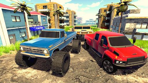 Off road Truck Simulator: Tropical Cargo screenshot 5