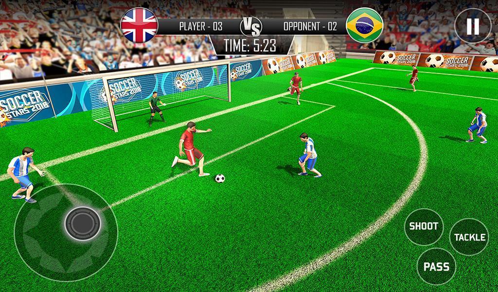 Real Football WC 2018 Dream League Soccer Stars 11 تصوير الشاشة