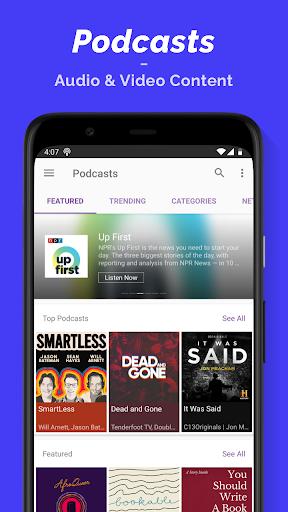 Podcast Player screenshot 1