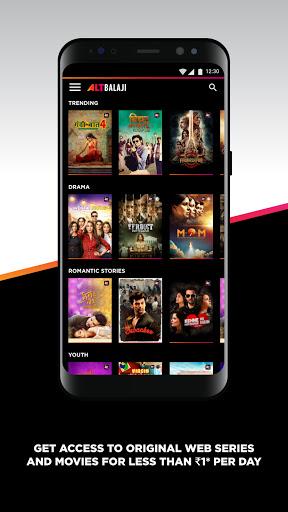 ALTBalaji - Watch Web Series, Originals & Movies 2 تصوير الشاشة