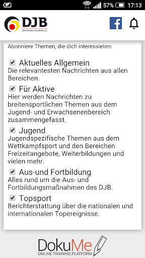 DJB App – Alles rund um Judo 2 تصوير الشاشة