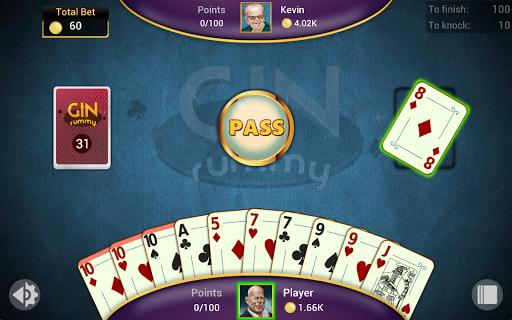 Gin Rummy - Offline Free Card Games 14 تصوير الشاشة