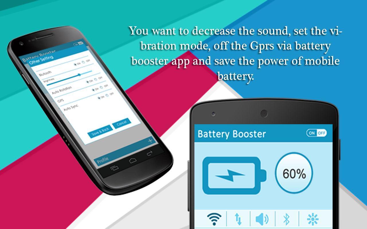 Battery Booster 1 تصوير الشاشة