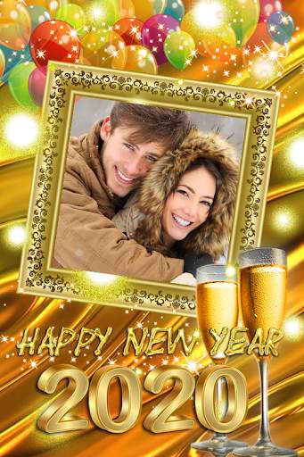 2021 New Year Photo Frames Greeting Wishes screenshot 6