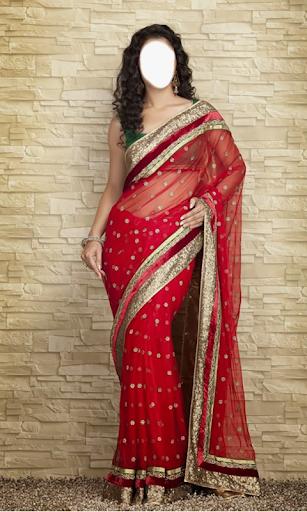 Indian Woman  Designer Saree 5 تصوير الشاشة