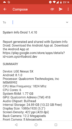 System Info Droid (Info, Tools and Benchmark) screenshot 8