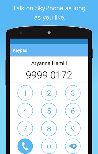 SkyPhone - Free Calls 4 تصوير الشاشة