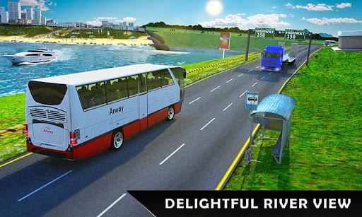 River Coach Bus Simulator Game screenshot 6