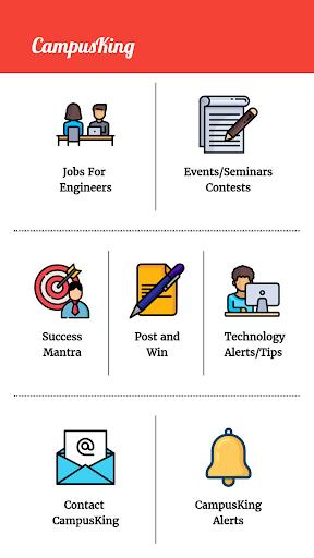 CampusKing-Referral Drives,Jobs for Engineers 1 تصوير الشاشة