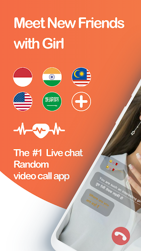 Live Chat Video Call with strangers-Whatslive screenshot 1