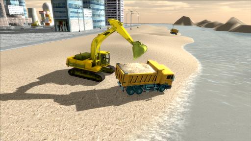 River Sand Excavator Simulator 3D screenshot 5
