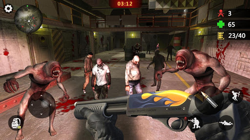 Zombie Trigger: Survival Shooting Games-Sniper FPS screenshot 3