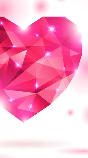 Diamond Hearts Live Wallpaper screenshot 2