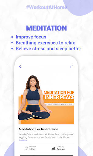 Simple Soulful - Shilpa Shetty: Yoga Exercise Diet screenshot 7