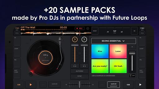 edjing Mix - Free Music DJ app screenshot 3