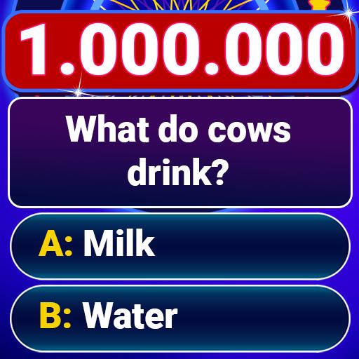 Millionaire 2021 -  Free Trivia Quiz Offline Game أيقونة