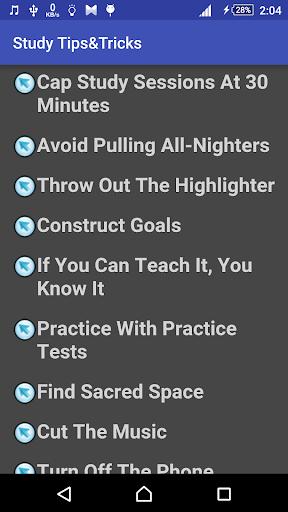 Study Tips&Tricks screenshot 1