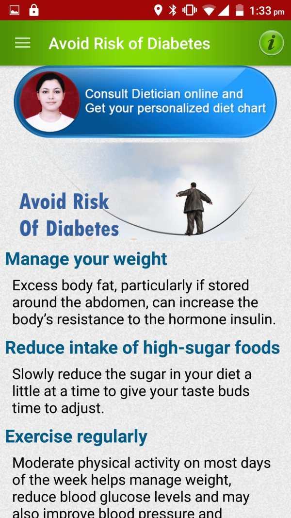 Diabetes Care Diet & Nutrition screenshot 7