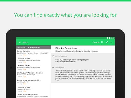 Find job offers - Trovit Jobs 10 تصوير الشاشة