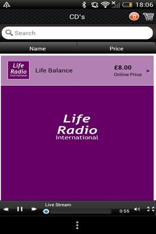 Life Radio International screenshot 2