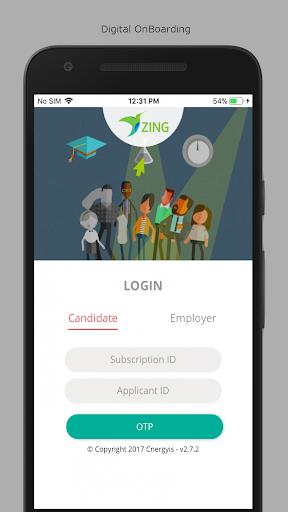 ZingHR Onboarding screenshot 1