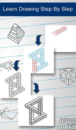 How to Draw 3D 11 تصوير الشاشة