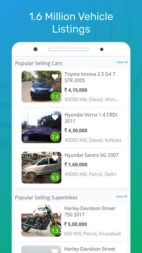 Droom: Used & New Car, Bike, Insurance, Loan & RTO screenshot 2