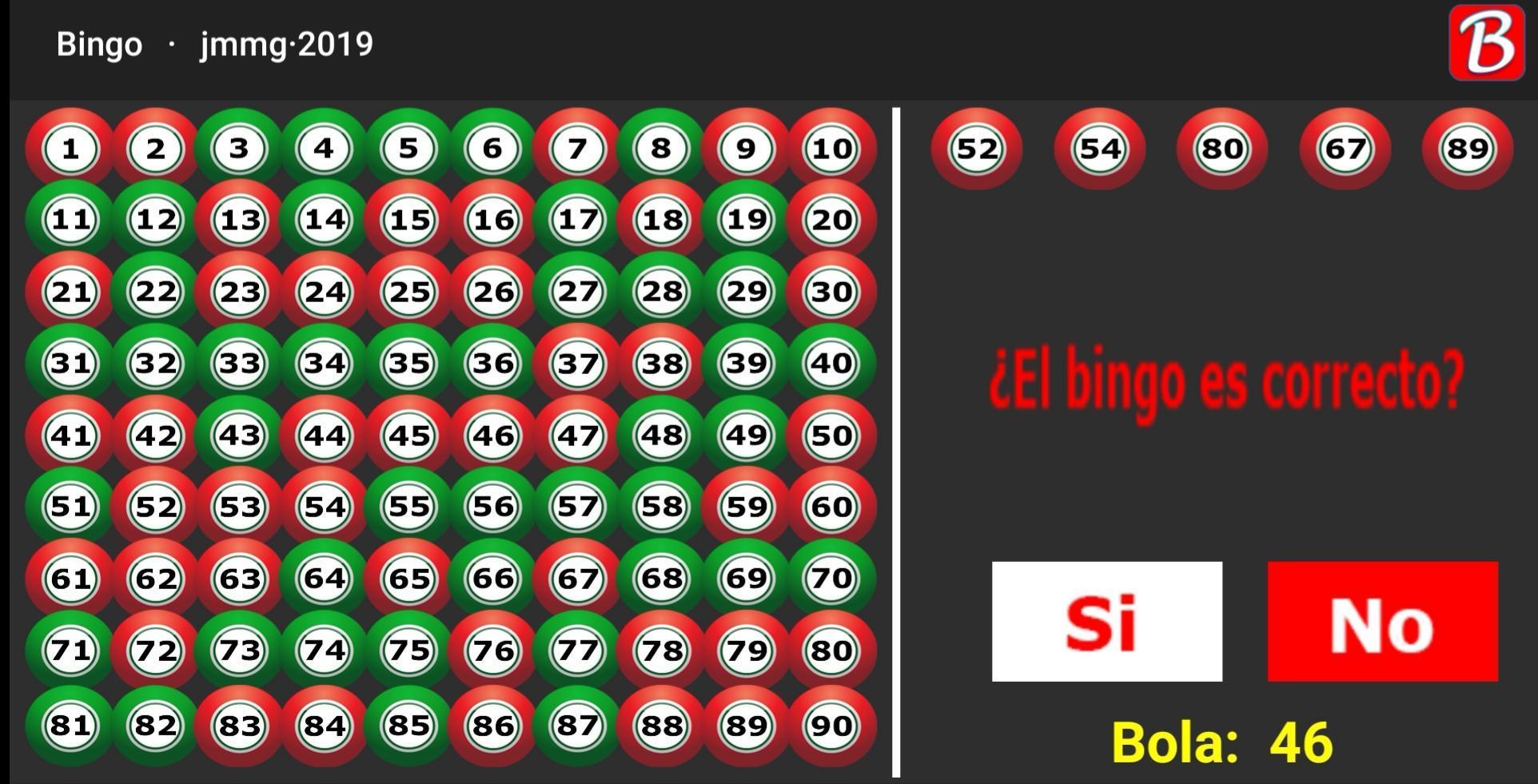 Jugar al BingO - Números del Bingo. 3 تصوير الشاشة