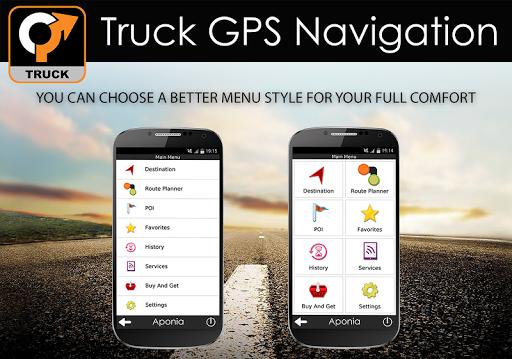 Truck GPS Navigation 9 تصوير الشاشة